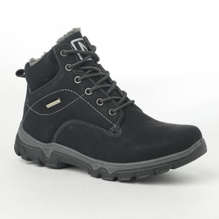 Slika Muške duboke cipele N385 crne