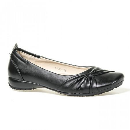 Slika Ravne cipele C6020 crne