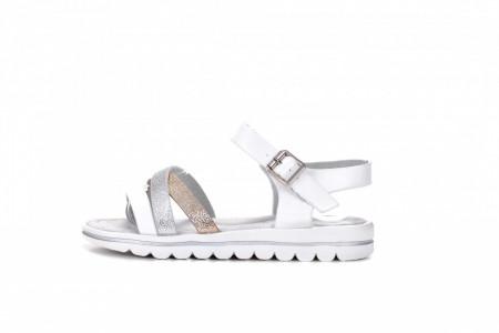 Slika Sandale za devojčice CS211915 bele (brojevi od 31 do 36)