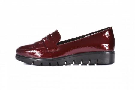 Slika Ženske lakovane cipele L082023 bordo