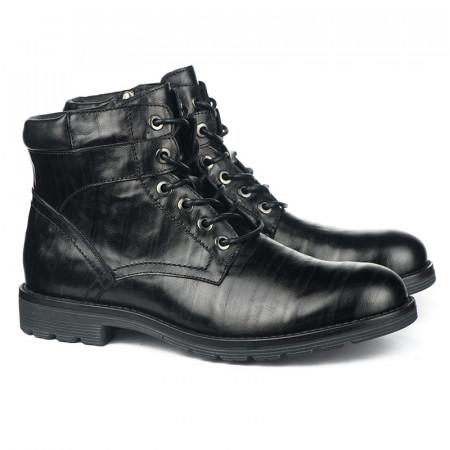 Slika Kožne duboke cipele za muškarce GH151-1-C575 crne
