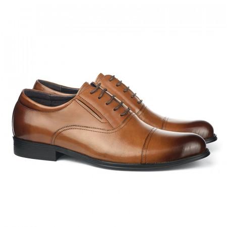Slika Kožne muške cipele BY320-051-T852 braon