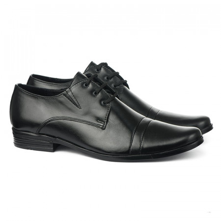 Slika Kožne muške cipele Gazela 3770 crne