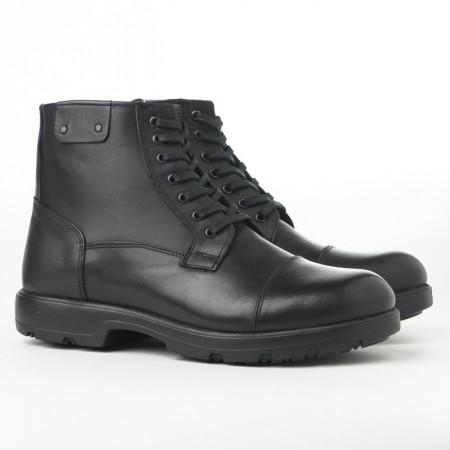 Slika Kožne muške duboke cipele AP2036 crne