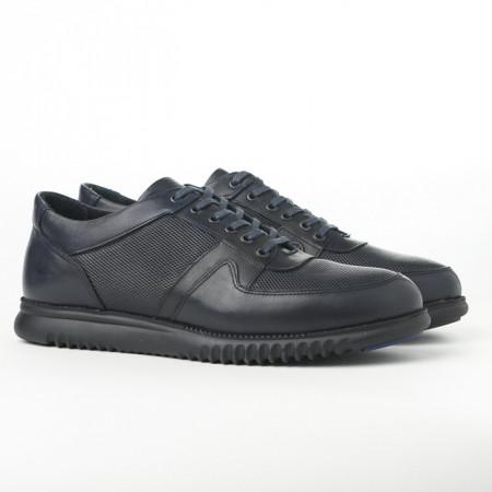 Slika Kožne muške cipele/patike AP8859 teget