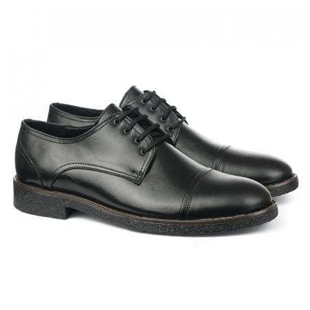 Slika Muške kožne cipele 5821 crne