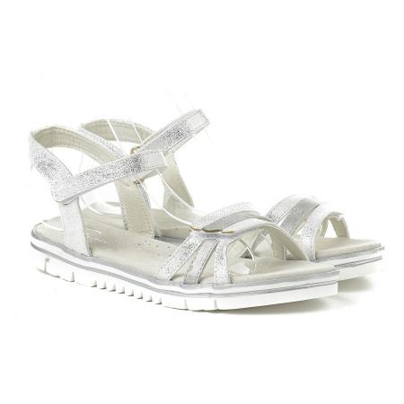 Slika Sandale za devojčice BS252016 srebrne (brojevi od 25 do 30)