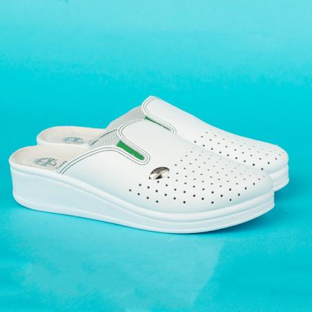 Slika Anatomske papuče MEDICAL 201 bela