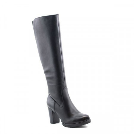 Slika Duboke čizme na štiklu LX85044 crne