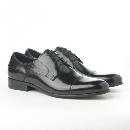 Slika Kožne muške cipele 362-047 crne