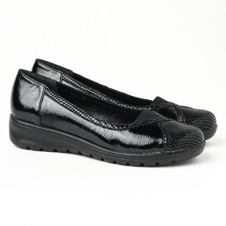 Slika Ženske cipele na ortoped petu 18-134 crne