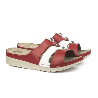 Anatomske papuče 02-28 crvene