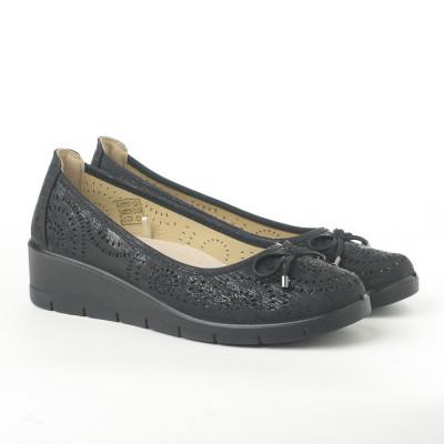 Cipele na malu petu L020607 crne