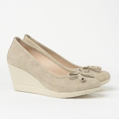 Cipele sa platformom 845 bež