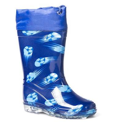 Gumene dečije čizme BH2557 plave (veliki brojeviI)
