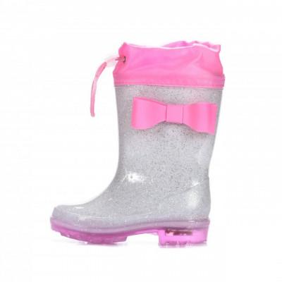 Gumene postavljene čizme BH122002 pink
