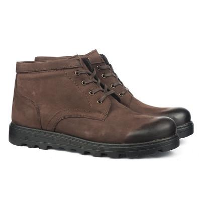 Kožne muške cipele 1352 braon