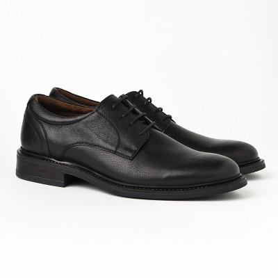 Kožne muške cipele 2382 crne