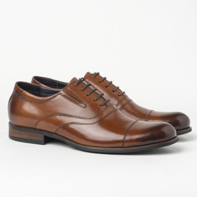 Kožne muške cipele BY320-102-H42 braon