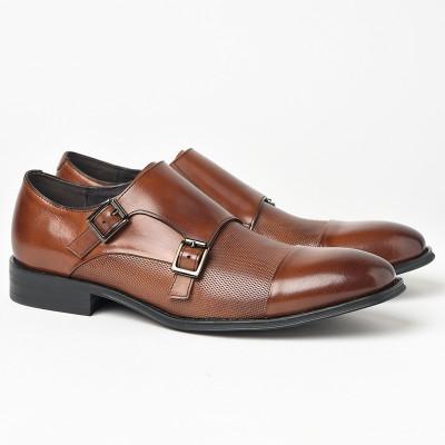 Kožne muške cipele P6502 crne