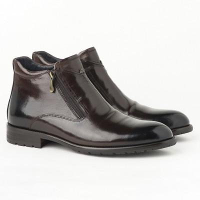 Kožne muške duboke cipele HL-H322D-18A braon