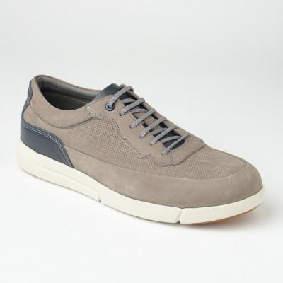 Kožne muške patike/cipele SF401-3 sive