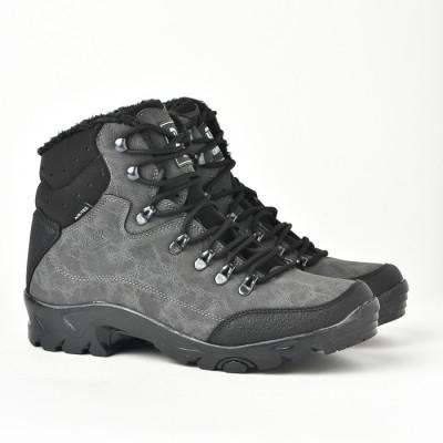 Muške duboke cipele 1117 sive