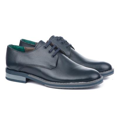 Muške kožne cipele Gazela 5031 teget