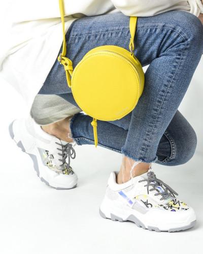 Okrugla torba T021000 žuta
