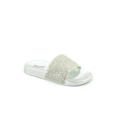 Papuče za devojčice CP020361 srebrne
