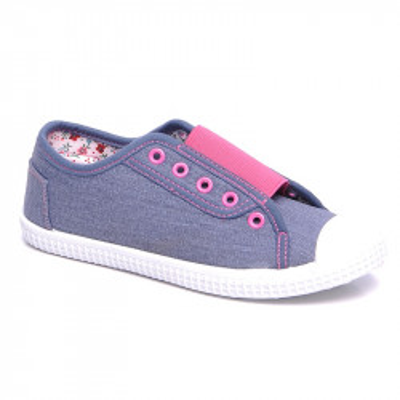 Patikice za devojčice C0171 plavo/roze