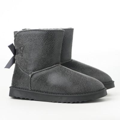 Poluduboke tople čizme LH75027-2 sive
