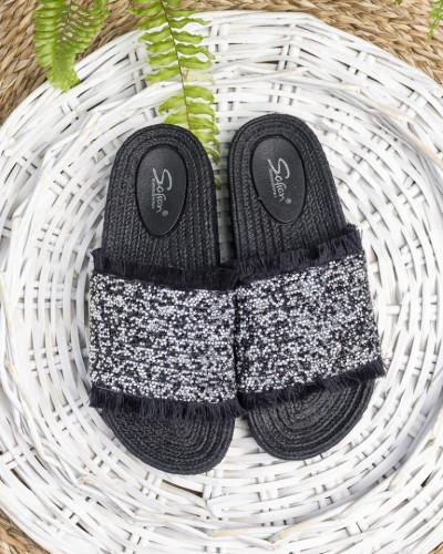 Ženske papuče LP801900 crne