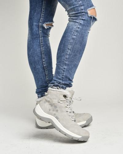 Zimske duboke cipele LH86157-1 sive