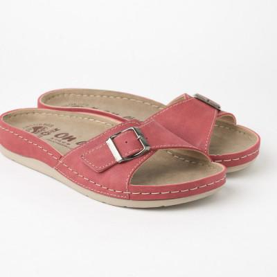 Anatomske papuče 122/6 crvene
