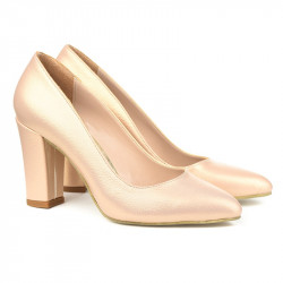 Cipele na štiklu 26000 zlatne