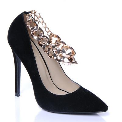 Cipele na štiklu L16091 crne