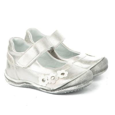 Dečije cipele sa anatomskim uloškom 1020 srebrne