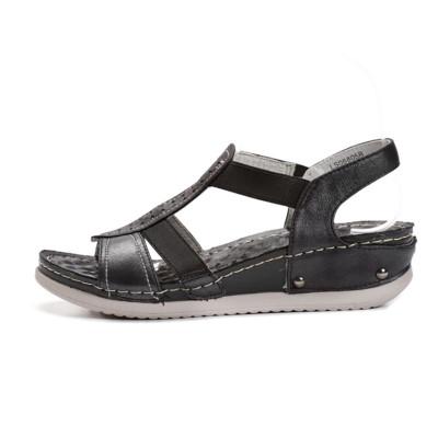 Klasične ženske sandale LS06805 crne