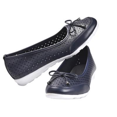 Kožne baletanke/cipele L13A823 teget