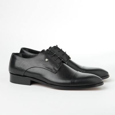 Kožne muške cipele 1724/1727 crne