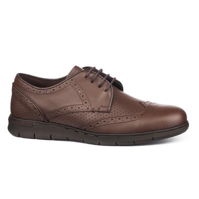 Kožne muške cipele 309 braon