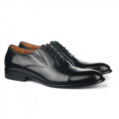Kožne muške cipele A076-Y01 crne