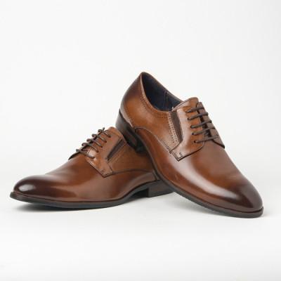 Kožne muške cipele BY130-11 braon