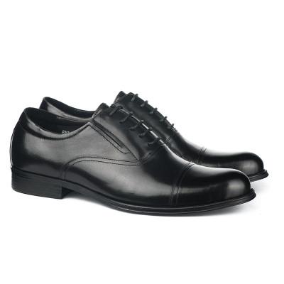 Kožne muške cipele BY320-051-T851 crne