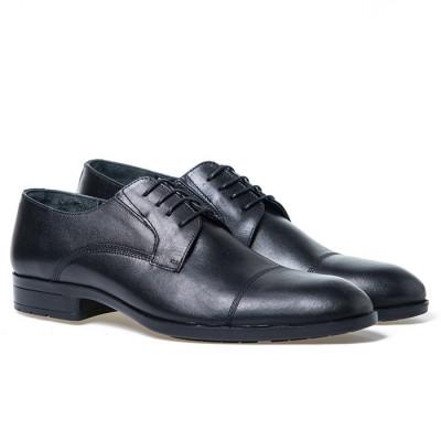 Kožne muške cipele C5802 crne
