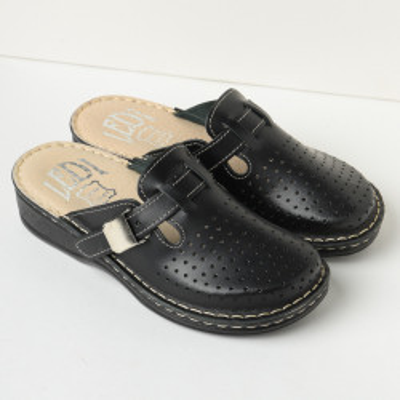 Kožne papuče 631 crne