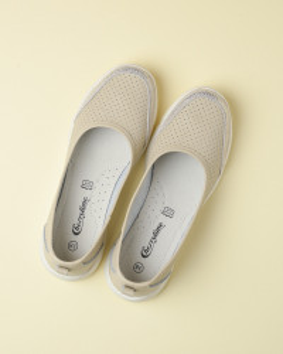Kožne ženske cipele 1167 bež