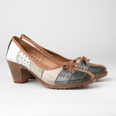 Kožne ženske cipele K1880/501