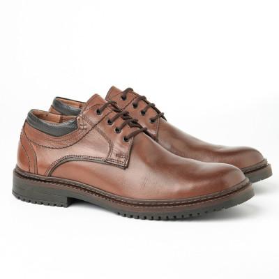 Muške kožne cipele 886-06 braon
